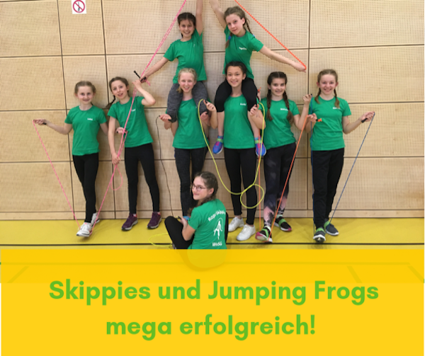 Skippies jumping frogs
